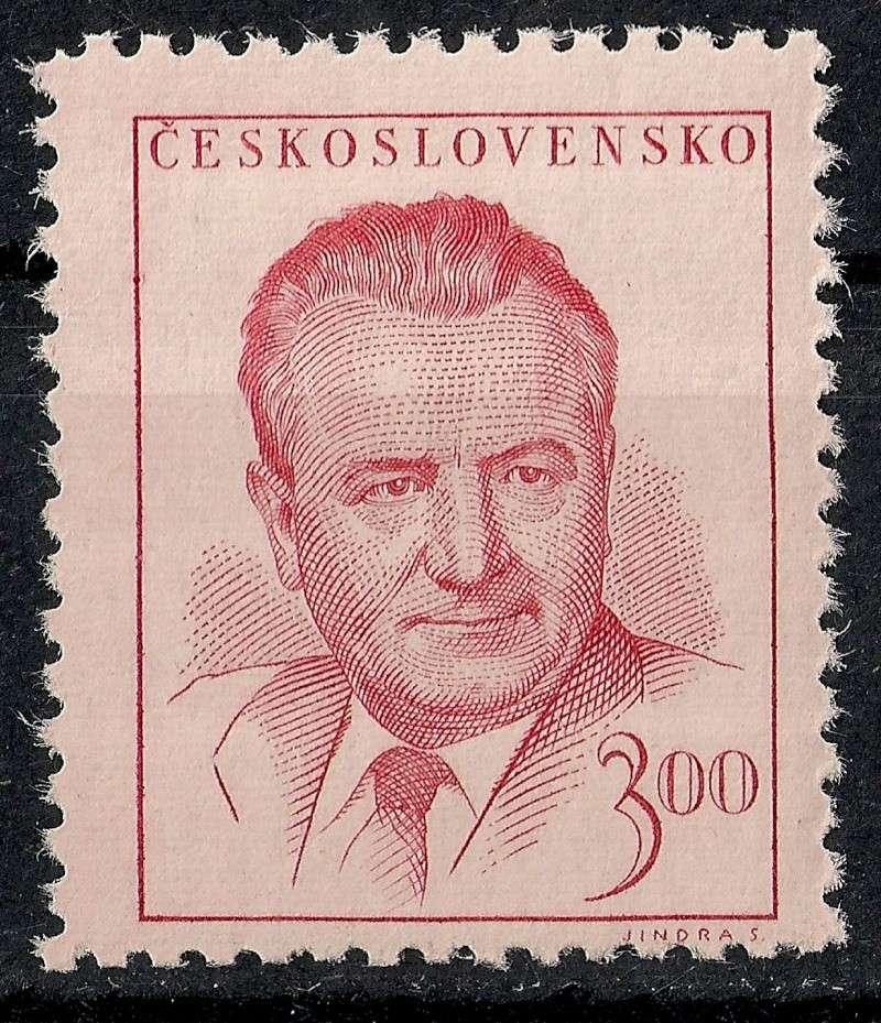Tschechoslowakei - Briefmarkenausgaben 1948 Scanne36