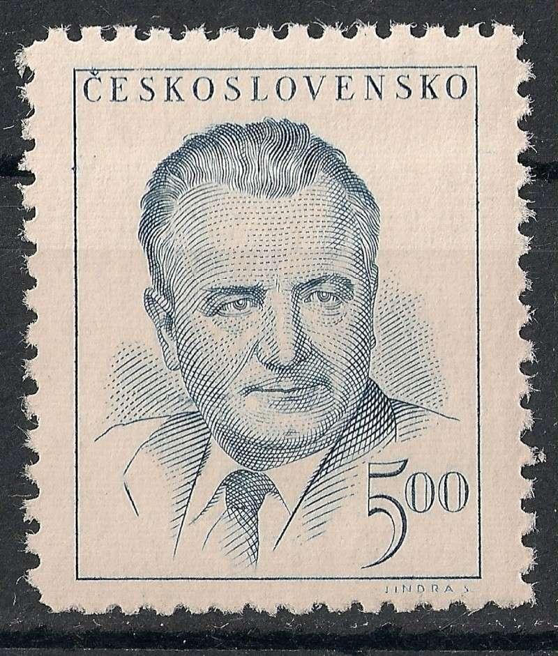 Tschechoslowakei - Briefmarkenausgaben 1948 Scanne37