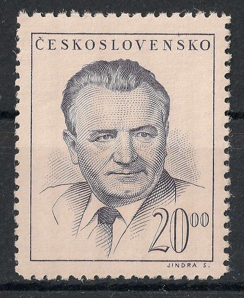 Tschechoslowakei - Briefmarkenausgaben 1948 Scanne58