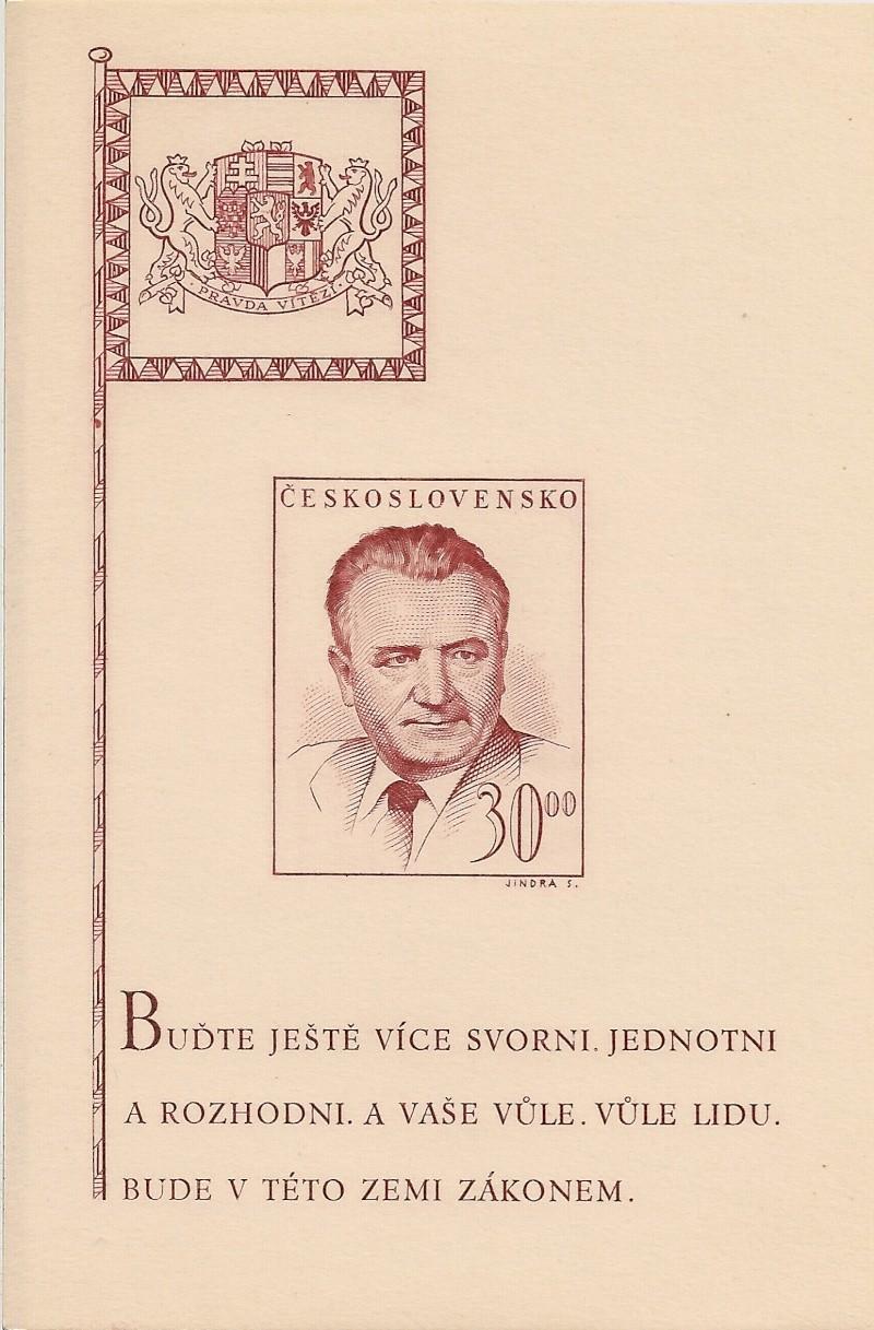 Tschechoslowakei - Briefmarkenausgaben 1948 Scanne59