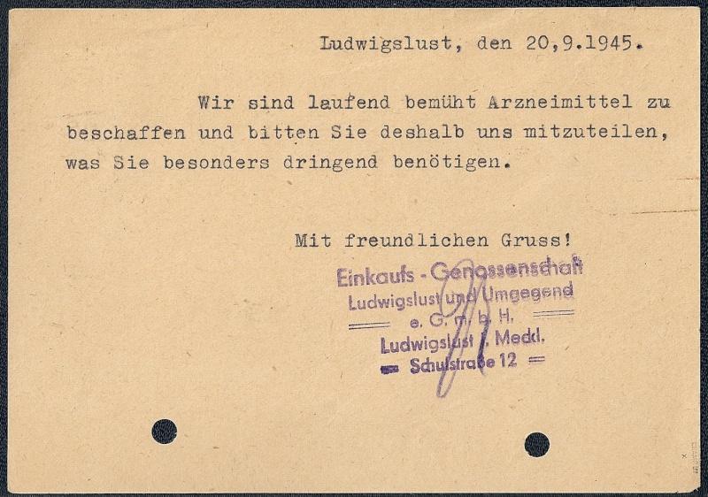 OPD Schwerin 1945 - 1952 (Teil 2) Scanne63