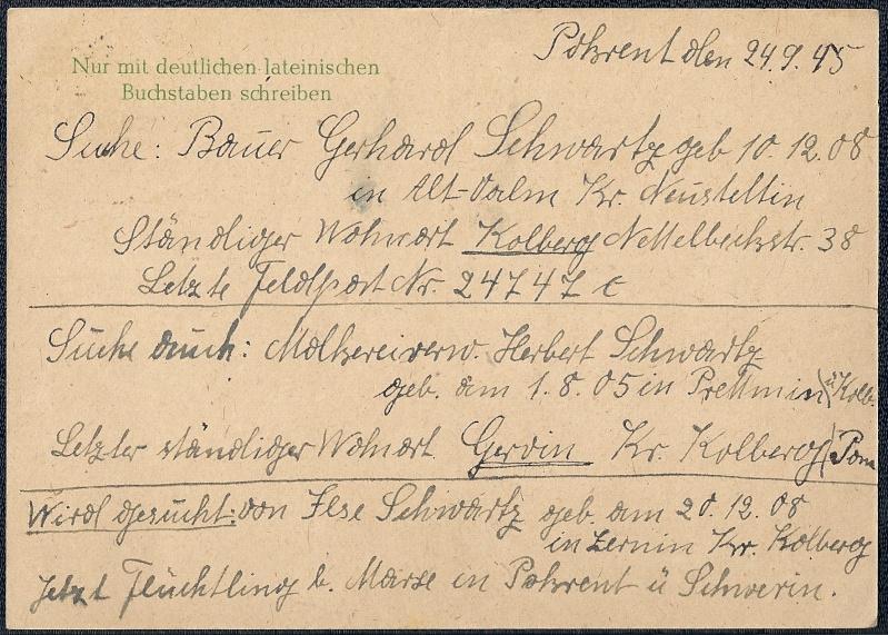 OPD Schwerin 1945 - 1952 (Teil 2) Scanne71