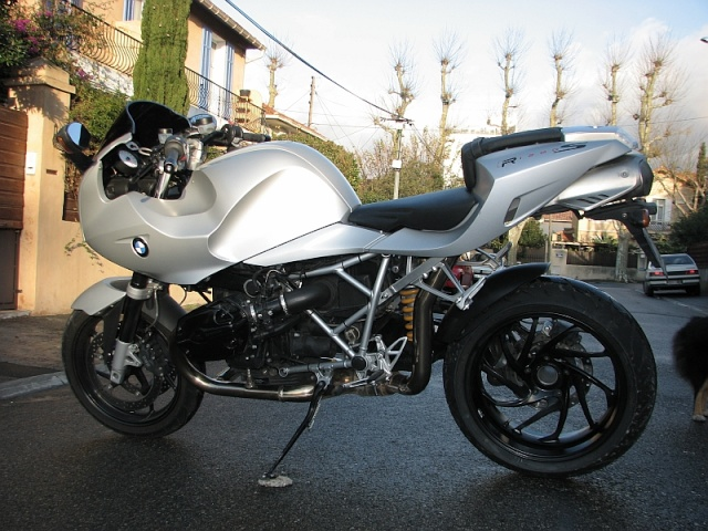 Projet R1200S 'Café Rider' from Marseille Ma_r1210