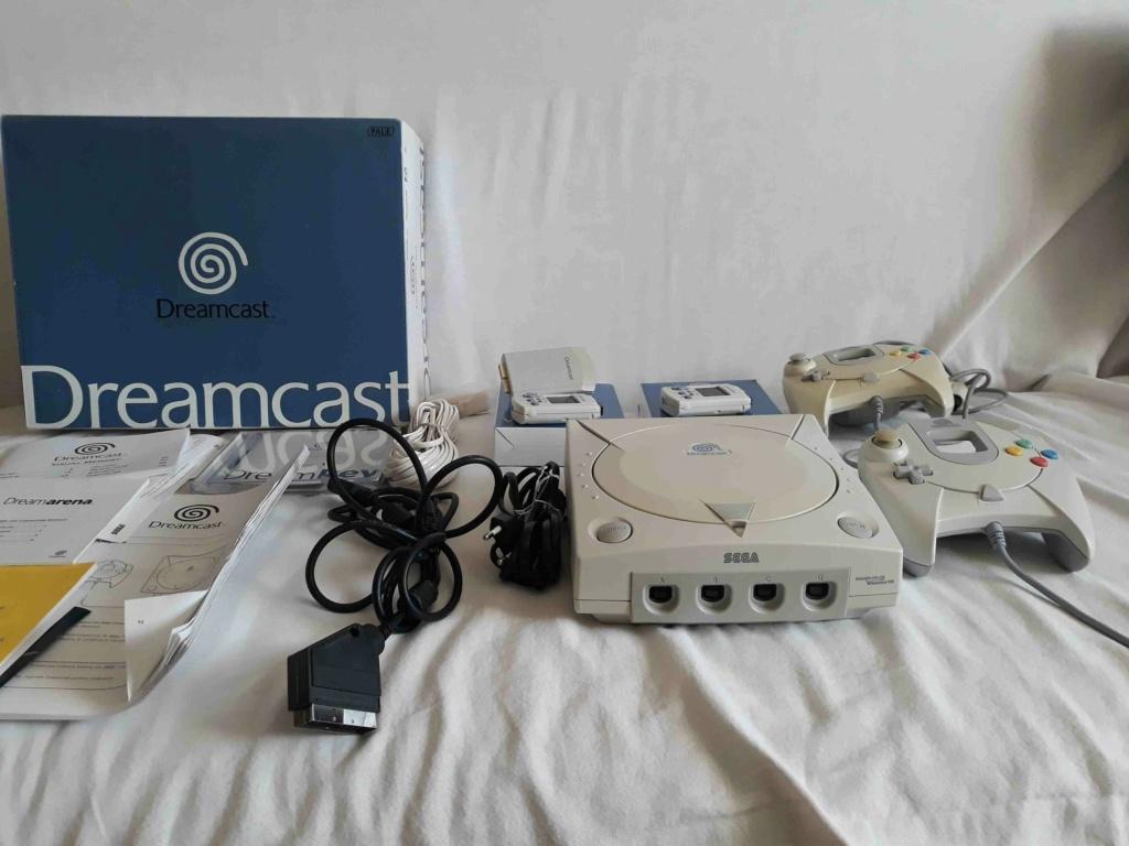 vendu - dreamcast, gameboy pocket et zelda 20210110