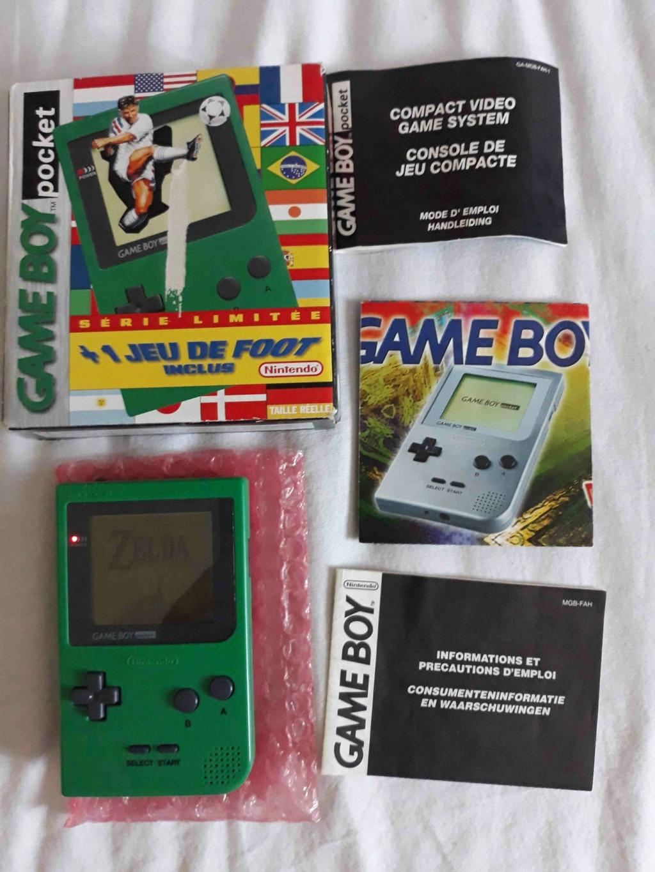 vendu - dreamcast, gameboy pocket et zelda 20210113