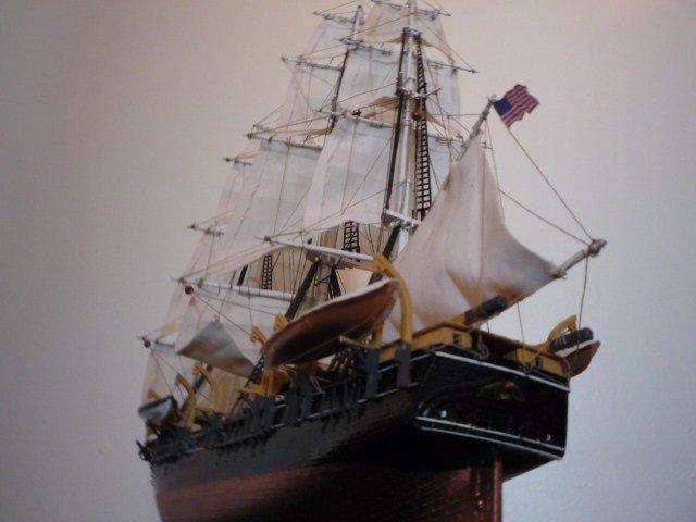 """WHALING SHIP  """"CHARLES W. MORGAN""""  (1:110) 00000022"""