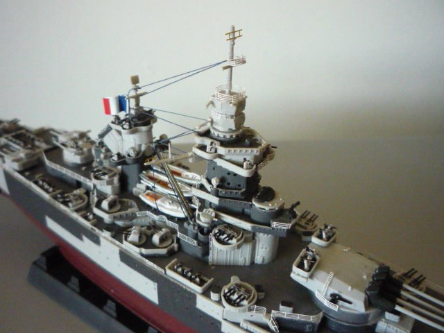 French Battle ship Richelieu 1943  (1/700°) par Alexander47 00000023