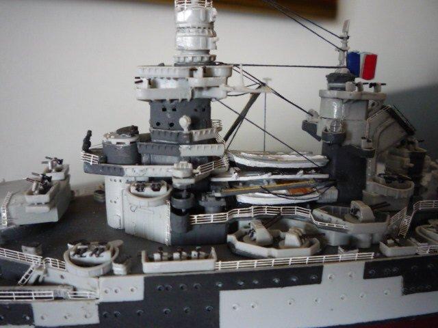 French Battle ship Richelieu 1943  (1/700°) par Alexander47 00000024