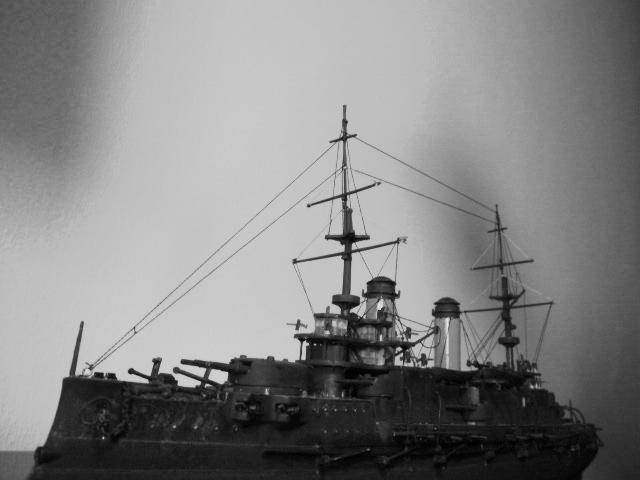 Russian battleship Borodino 1/350 Borodi10