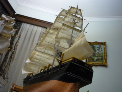 "WHALING SHIP  ""CHARLES W. MORGAN""  (1:110) Foto-a10"