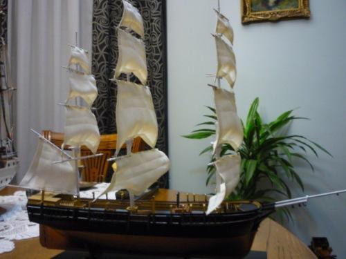 "WHALING SHIP  ""CHARLES W. MORGAN""  (1:110) Foto-e10"