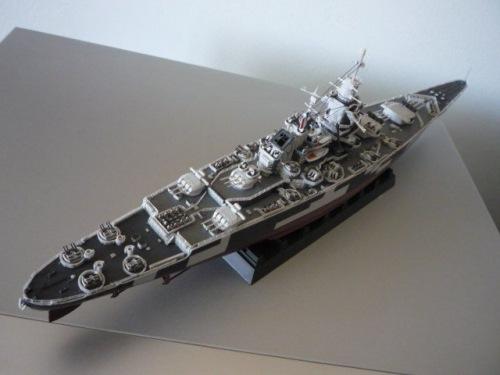 French Battle ship Richelieu 1943  (1/700°) par Alexander47 Foto-x10