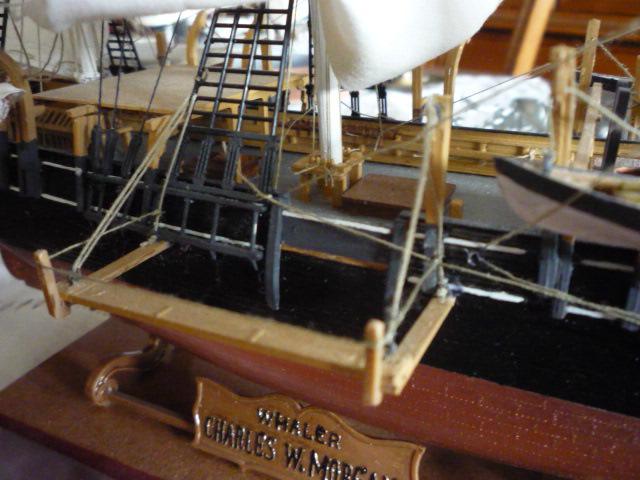 """WHALING SHIP  """"CHARLES W. MORGAN""""  (1:110) P1070311"""