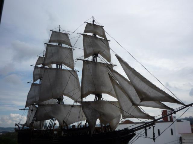 """WHALING SHIP  """"CHARLES W. MORGAN""""  (1:110) P1070312"""