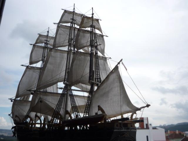 """WHALING SHIP  """"CHARLES W. MORGAN""""  (1:110) P1070313"""