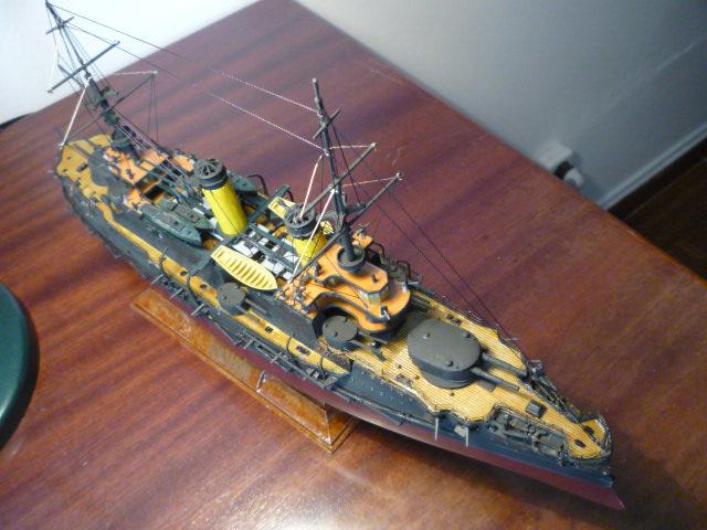 Russian battleship Borodino 1/350 P1070713