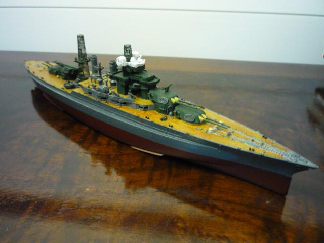 USS MARYLAND BB-46 1941  (1/700)Uma P1070714