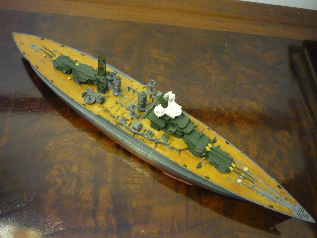 USS MARYLAND BB-46 1941  (1/700)Uma P1070715
