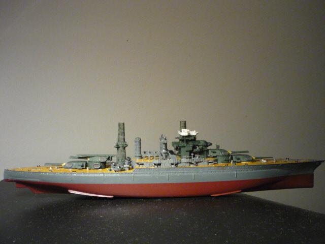 USS MARYLAND BB-46 1941  (1/700)Uma P1070810