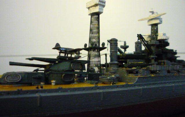 USS MARYLAND BB-46 1941  (1/700)Uma P1070812