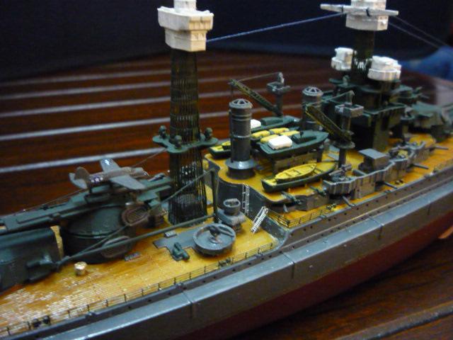 USS MARYLAND BB-46 1941  (1/700)Uma P1070814