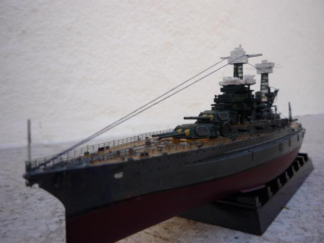 USS MARYLAND BB-46 1941  (1/700)Uma P1070815
