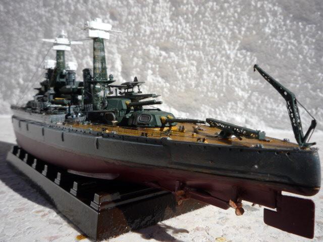 USS MARYLAND BB-46 1941  (1/700)Uma P1070816