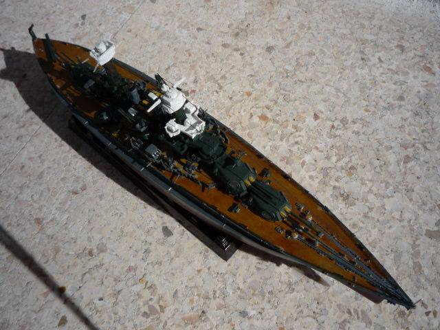 USS MARYLAND BB-46 1941  (1/700)Uma P1070817