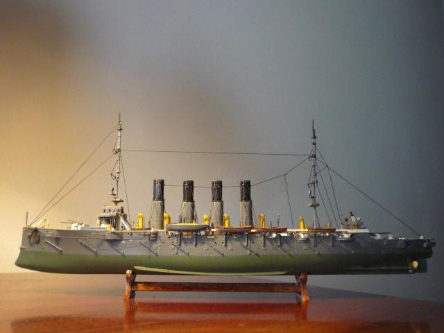 """CRUISER VARYAG  1ª MISSION DANS LA FLOTTE RUSSE EN 1901 """"ÉCHELLE1/350"""" P1080023"""