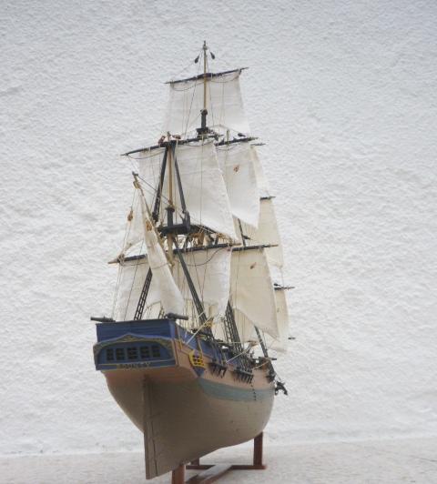 HMAV Bounty 1783 amélioré (Revell 1/110°) de alexander47 P1080214