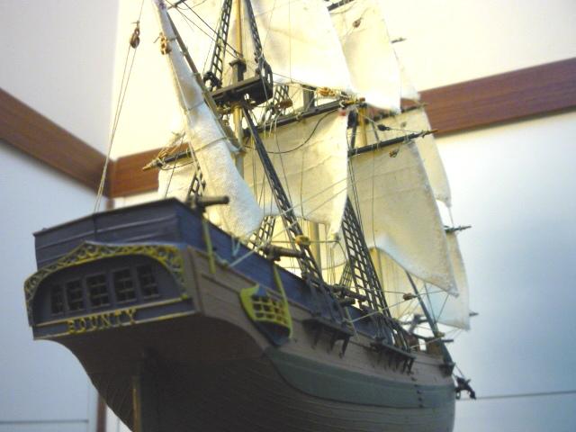HMAV Bounty 1783 amélioré (Revell 1/110°) de alexander47 P1080310