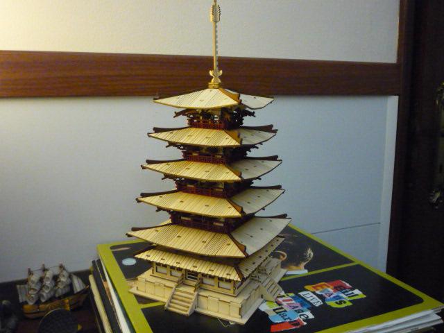 Temple-Pagode HORYU-JI (Nara) Japon (madeira) P1080812