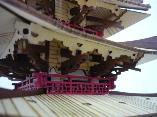 Temple-Pagode HORYU-JI (Nara) Japon (madeira) P1080816