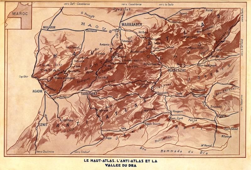 AU MAROC INCONNU dans le Haut-Atlas et le Sud Marocain Carte_11