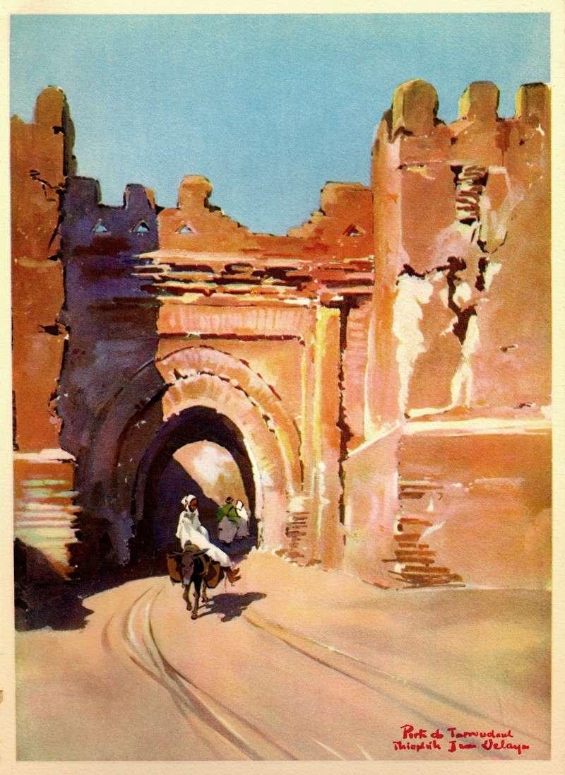 AU MAROC INCONNU dans le Haut-Atlas et le Sud Marocain Porte_10