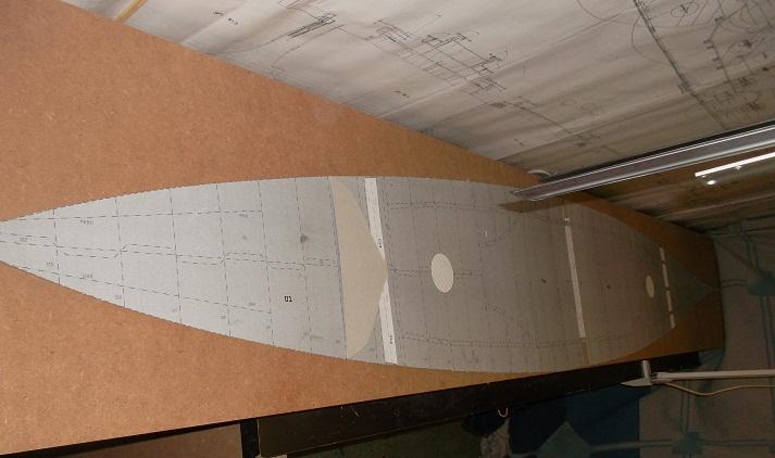 Mein Zweites Schiff hier Schlachtschiff Bismarck 1:100 Forum310