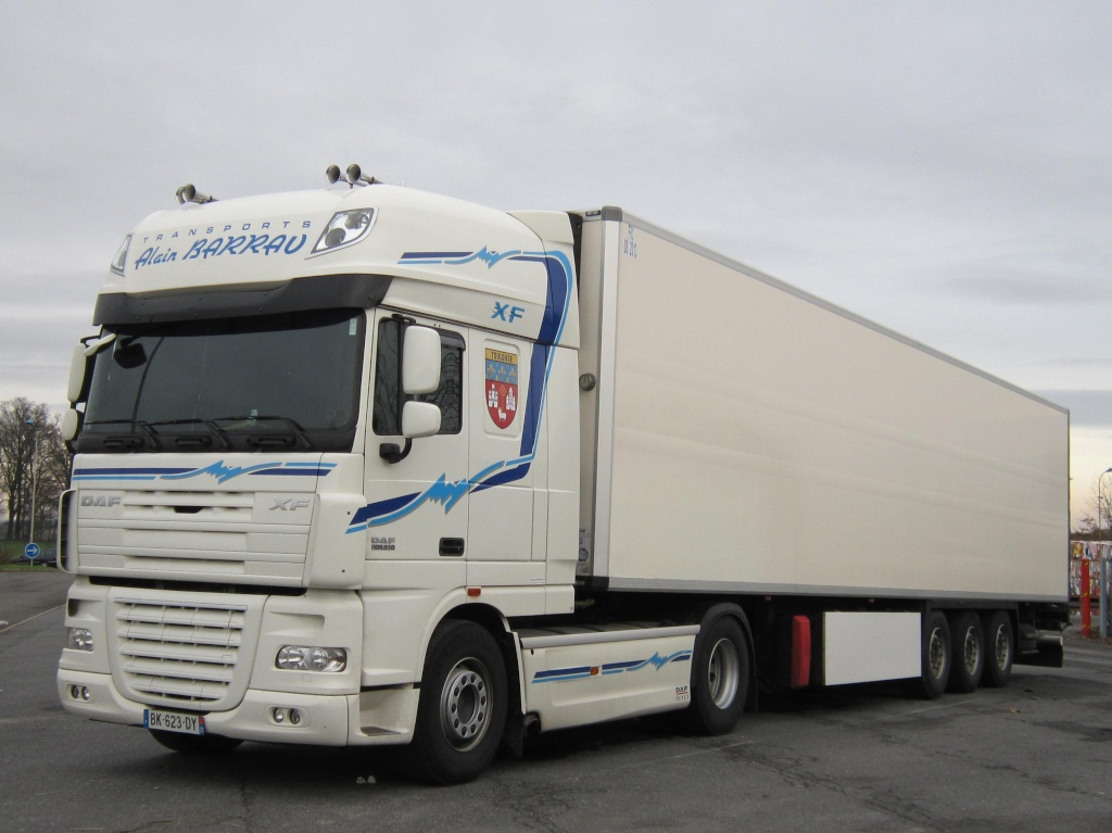 Transports Alain Barrau (Villematier 31) Daf_xf14