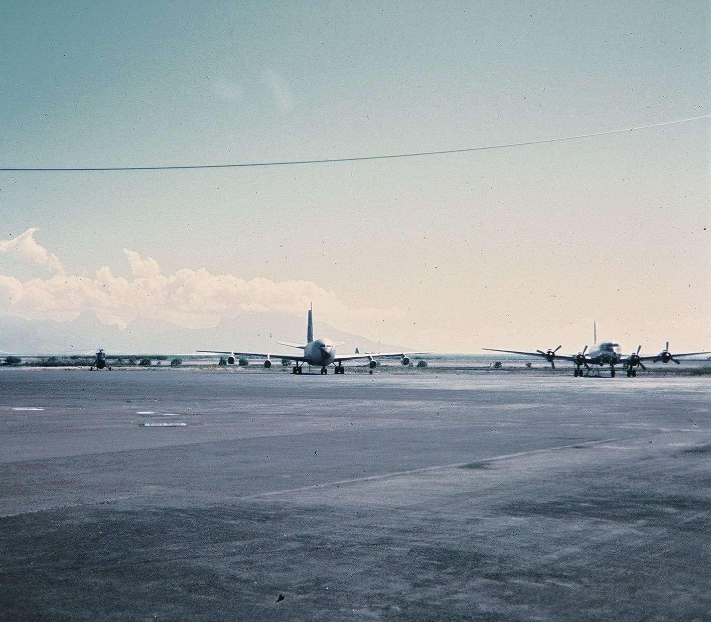 Tahiti] Aéroport Faa'a  durant les campagnes. Cd2_pa29