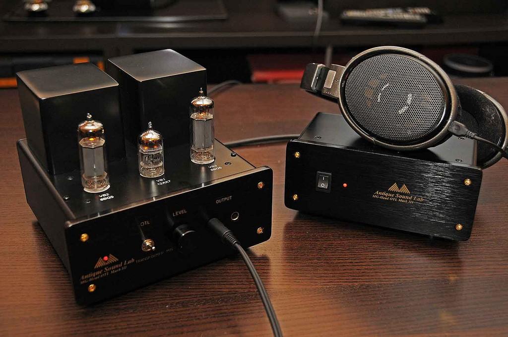 (RM) Antique Sound Lab MG-Head OTL MKIII amplificatore per cuffie 46064410