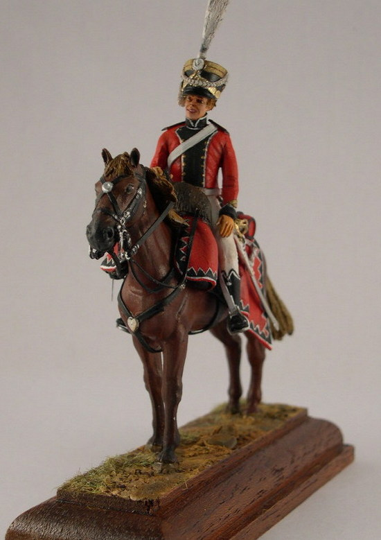 Officier des chevau-léger Saxon du prince Jean 1810/13 - Historex - 1/30 Dscn4110