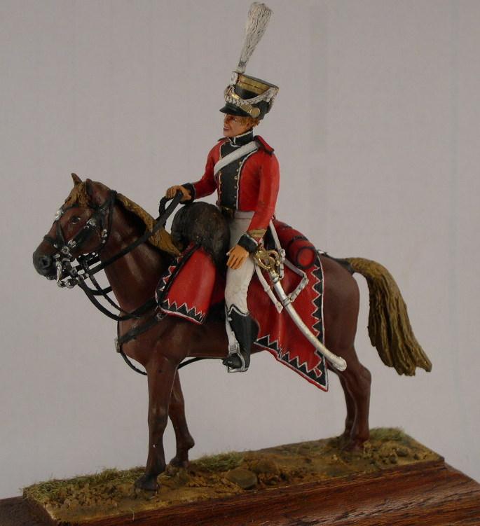 Officier des chevau-léger Saxon du prince Jean 1810/13 - Historex - 1/30 Dscn4111
