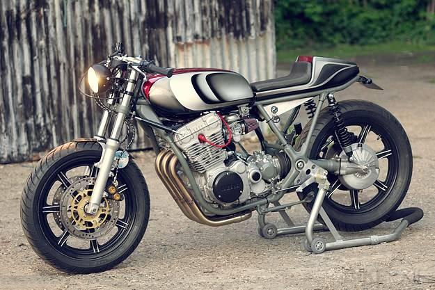 Yamaha XS750 Cafe Racer by Ugly Motorbikes Custom11