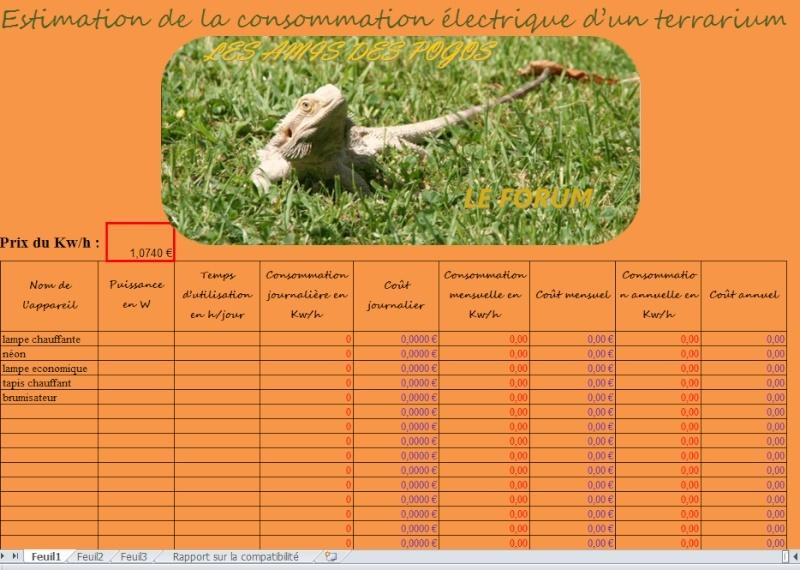 calculateur de consommation Capltu10