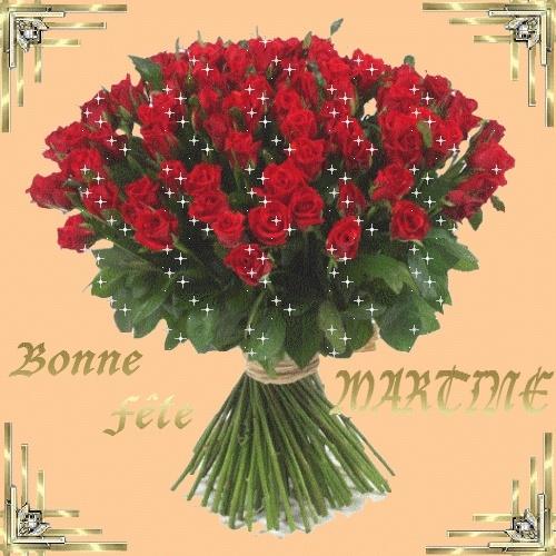 Bonne Fête Martine Aqw5kx12