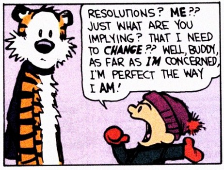 NEW YEAR'S RESOLUTION - What's Yours? Calvin10