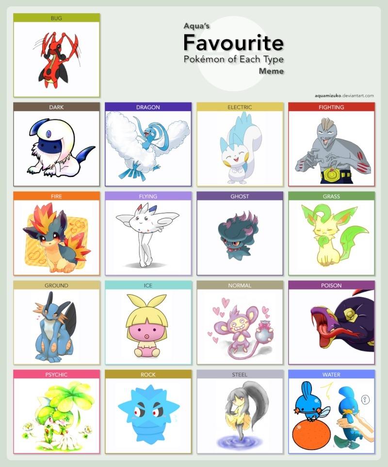 Votre (vos ?) Pokémon préféré(s) (☆^ー^☆) - Page 2 Classe10