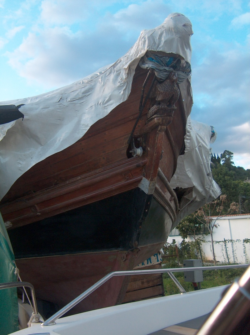 Chantier Naval en bois - Gaeta - Italie Hpim0614