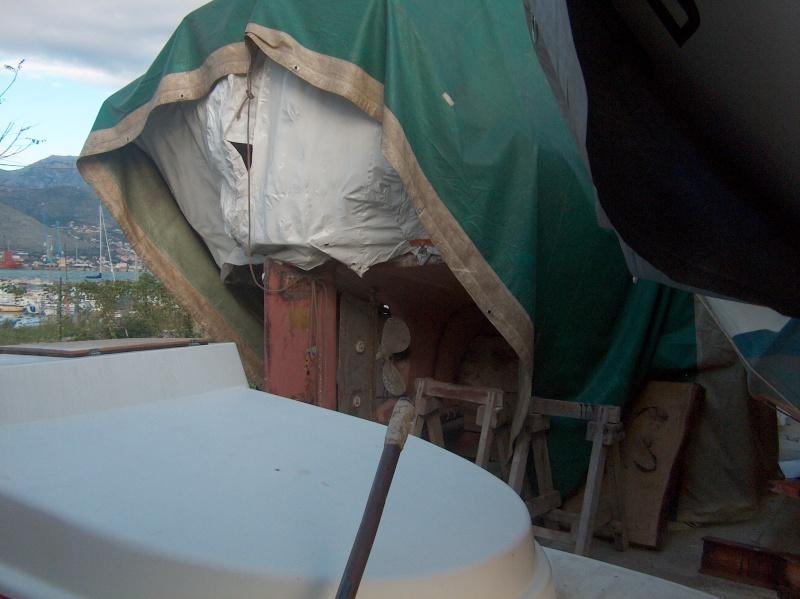 Chantier Naval en bois - Gaeta - Italie Hpim0619