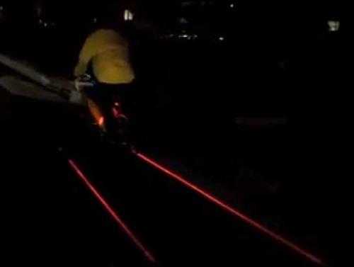 Projecteur laser de piste cyclable  31hhlr10