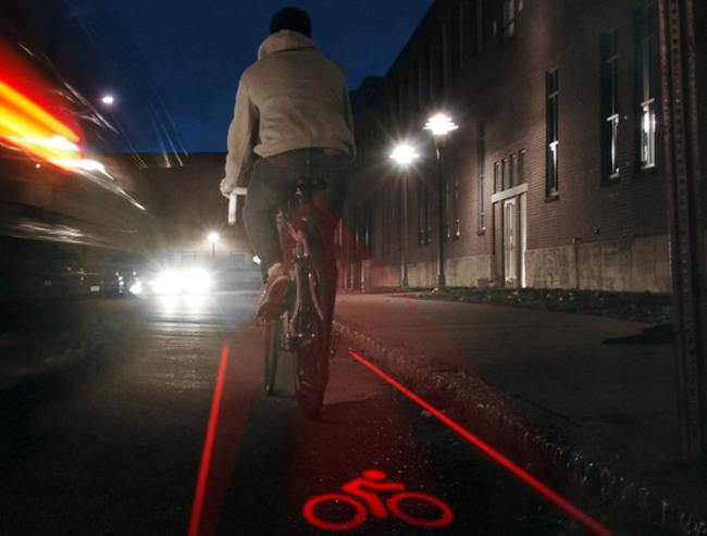 Projecteur laser de piste cyclable  Velo-p10